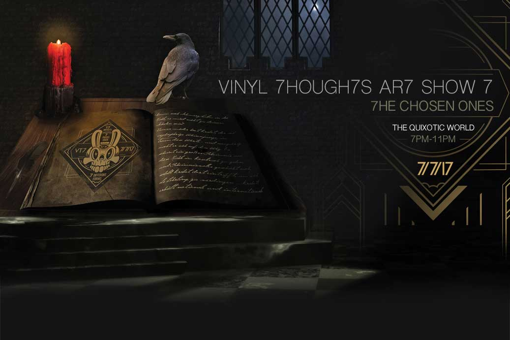 Vinyl Thoughts Art Show 7